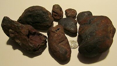 RAW ,ROUGH, UNKNOWN, NATRUAL ,RED,HEMETITE ?,ROCKs, STONEs, 784.0gr lot of 8