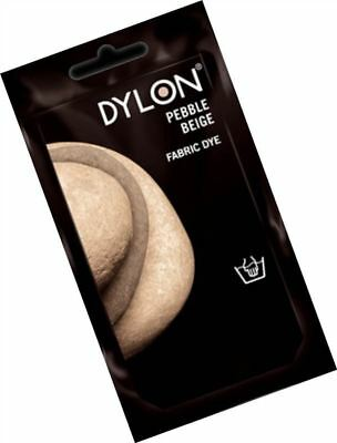 Dylon Hand Wash Fabric Clothes Dye 50g Textile Permanent Colour PEBBLE BEIGE