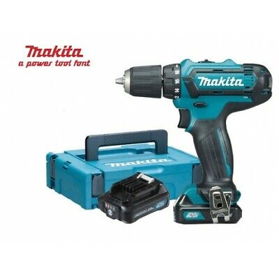 Trapano Batteria Makita Avvitatore  Hp331Dsaj 10,8V 2 Batterie 2Ah Litio