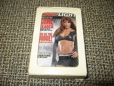 Coors Light Maxim Girl Search Deck Of Playing Cards