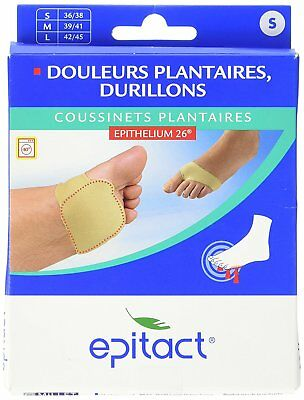 Epitact Plantar Cushions with Epithelium   1 Pair   Relieves Pain Plantaires