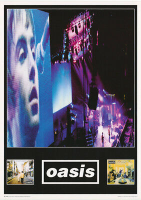 Lot Of 2 Posters : Music : Oasis  - Montage -  Free Shipping ! #lpo463    Rw17 M