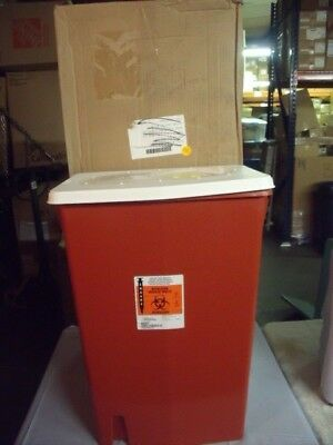 ⭐️NEW Case of 5 SharpSafety Multi-purpose Sharps Container 18 Gallon 8998S! S6⭐️