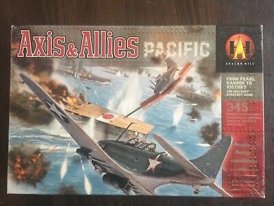 Avalon Hill Board Game Axis & Allies Pacific