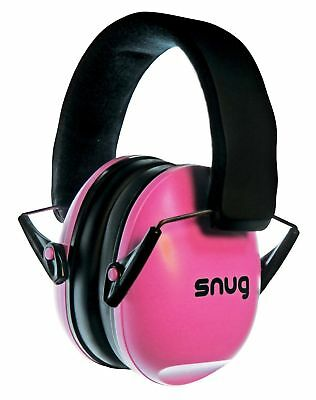 Kids Ear Defenders Children Adult Hearing Protectors Adjustable Headband pink