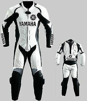 MEN LEATHER SUIT MOTORBIKE LEATHER SUIT MOTORCYCLE LEATHER JACKET PANT 1/2 Piece
