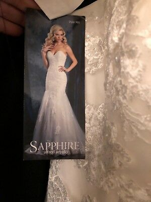 stunning Alfred Angelo wedding dress size 13 shop sample in immaculate condition