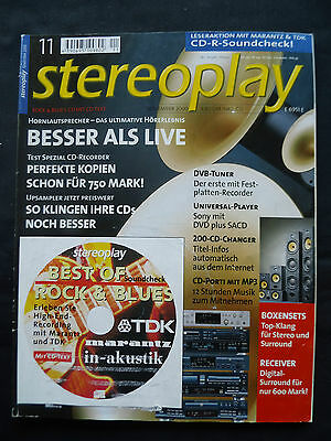 Stereoplay 11/00 Canton Ct 20 Cm As 50,jbl Xti 100,quadral Argent 75 Ascent 250