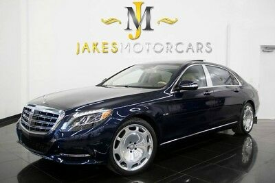 2016 Mercedes-Benz S-Class Maybach S600 DESIGNO ($204K MSRP) 2016 MAYBACH S600~$204K MSRP!~ DESIGNO~ EXEC REAR SEAT PKG~REFRIGERATOR~3K MILES
