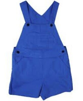 "Unisex Kids Childrens ""ex Next"" Blue Cotton Dungarees  - 0-6 Years"
