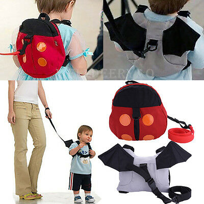 Anti-Lost Band Toddler Baby Kids Cartoon Backpack Safety Walking Harness Leash