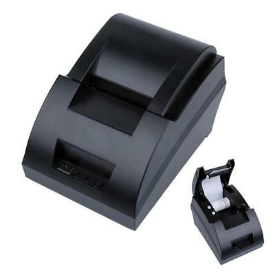 USB Mini 58mm POS Thermal Dot Receipt Bill Printer Set Roll Paper POS-5890C US