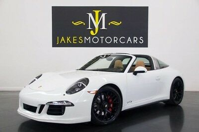 2016 Porsche 911 TARGA 4 GTS (MANUAL TRANSMISSION!) 2016 PORSCHE 911 TARGA 4 GTS, MANUAL TRANSMISSION! ONLY 3200 MILES! 1-OWNER!