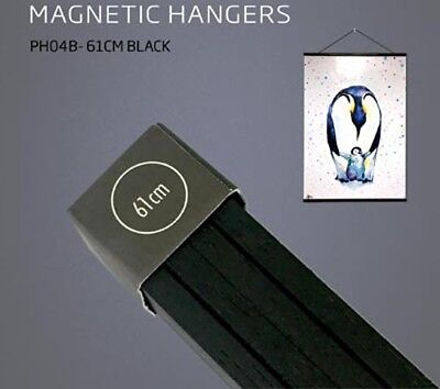 Poster Hanger Set - Magnetic Timber 61cm Black #6