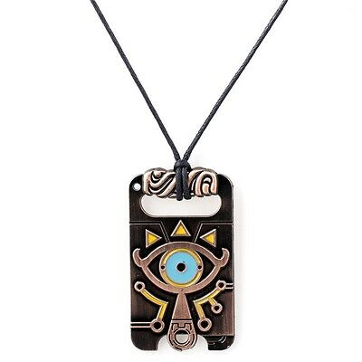 Anime The Legend of Zelda Sheikah Slate Breath of the Wild Necklace Pendant