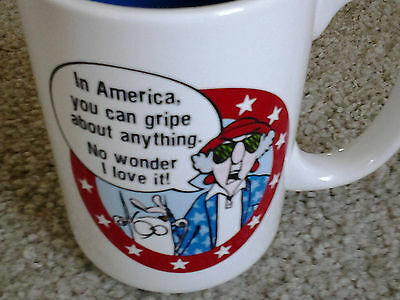 Maxine & Dog Floyd Patriotic America Can Gripe About Anything Ceramic Coffee Mug