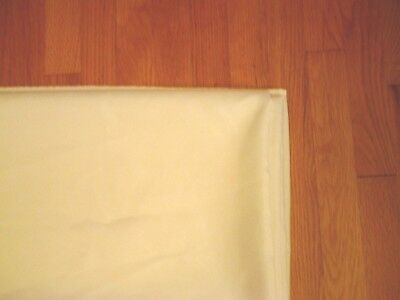 "circular 126"" round High Quality Tablecloth Linens Wedding Restaurant- EUC 12ft"