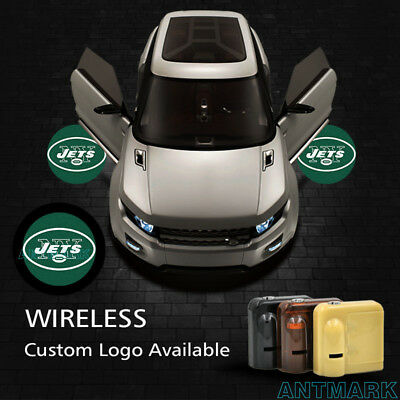 4pcs Car Door Projector Welcome Lights For Toyota Superman No Source · Car Door New York Jets Logo Projector Welcome Laser Ghost Shadow LED Cree Lights