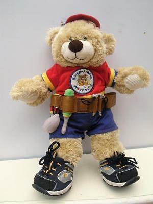 12 Piece BUILD a BEAR Clothes & BEAREMY Plush Carpenter SKECHERS Undies QZZQ SA