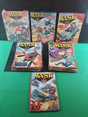 Vintage 80s mask comic * Mega Bundle lot * × 85 with holiday specials + annual