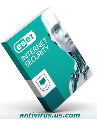 Eset Internet Security - Version for 2019  (2 Years  / 1 PC) for Windows
