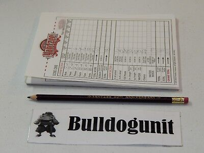 1996 40th Anniversary Yahtzee Collectors Edition Score Pad & Pencil Only