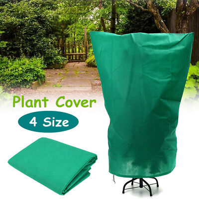 4 Size Green Plant Cover Frost Protection Yard Garden Winter Warming Care Jacket