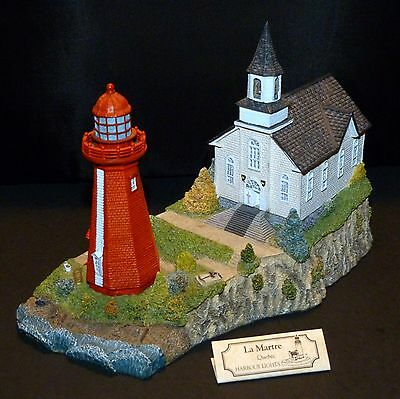 2000 Harbour Lights Lighthouse #255 ~ La Martre ~ Quebec ~ Signed By B. Younger