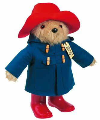 NEW Vintage Giant Paddington Bear in Boots 45cm from Purple Turtle Toys
