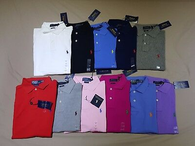BNWT Men's Ralph Lauren Polo Shirts - RRP$99