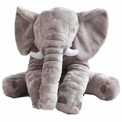 Long Nose Elephant Doll Soft Plush Stuff Lumbar Pillow For Infant  Toys 2018 Zw3