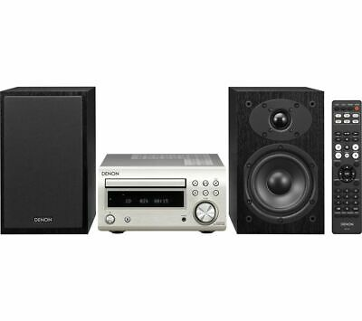 DENON DM-41DAB Wireless Traditional Hi-Fi System - Premium Silver - Currys