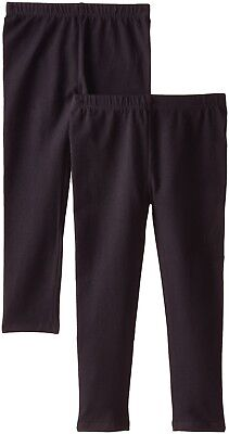 The Children's Place Big Girls' Solid Legging (Pack of 2), Black, X-Large (14)