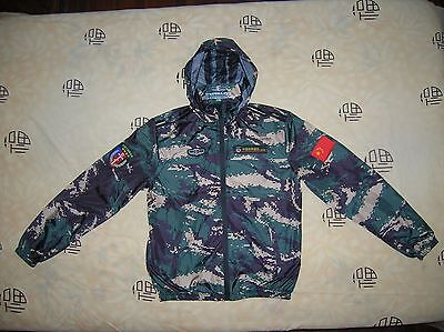 07's series China PLA Special Forces Digital Camouflage Technical Jacket