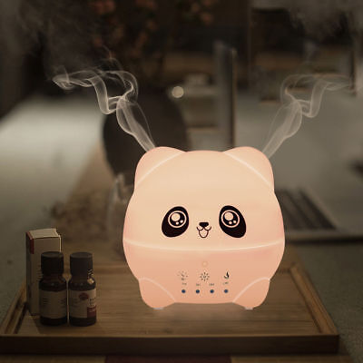 300ML Ultrasonic Essential Oil Aroma Diffuser Mist Humidifier For Kid Women Gift