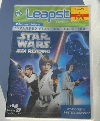 Leapster Star Wars Jedi Reading 5-8yrs Expanded Play for Leapster2 Learning Game