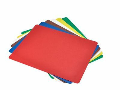 Professional set of 6 Colour coded flexible chopping boards