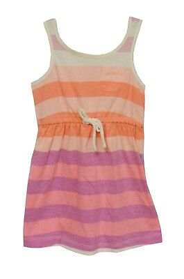 Baby Girls Gap Pink Stripe Holiday Summer Sleeveless Dress Age 12-18 Months