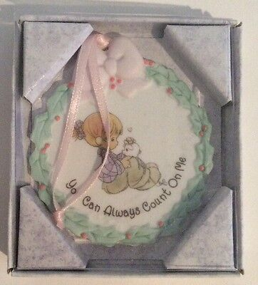 Precious Moments ~You Can Always Count On Me~1995 Easter Seals Ornament~New!