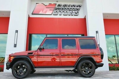 2017 Mercedes-Benz G-Class  2017 G63 AMG - RARE PERFORMANCE STUDIO PACKAGE - ONLY 2,000 MILES - FLORIDA