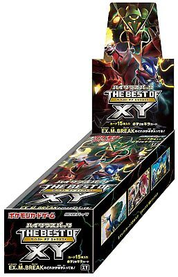 Pokemon Best Of X and Y Booster Box Japanese Exclusive