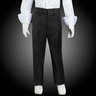 Boys Dress Pants with Front Hem and Front Zipper Sizes 2-20