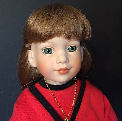 "Megan, Magic Attic Club Exclusive 16"" Porcelain Doll, NRFB, by Robert Tonner"