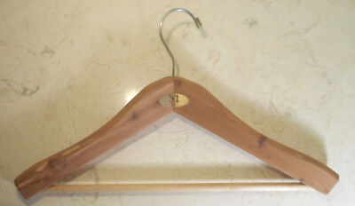 Men's Wearhouse MW Cedar-Clothes Closet Hanger-thick wood-strong quality