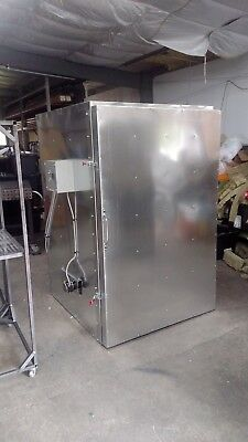 cerakote powder coating curing oven with roll in cart