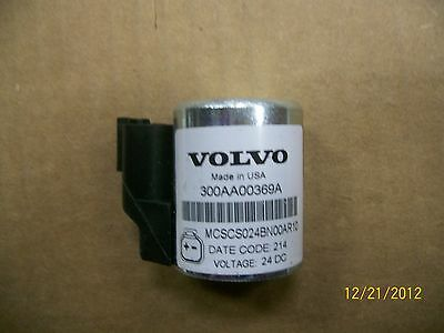 Volvo Electric Over Hydraulic Replacement Solenoid Coil 300AA00369A 24VDC New