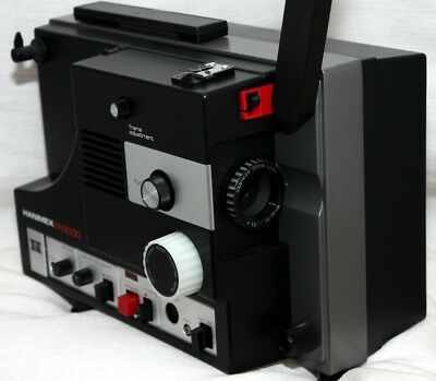 Hanimex SR900 Super 8mm Projector as NEW ,TESTED  Beautiful, with org.books