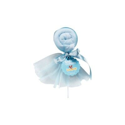 Blue Bib İn Lollipop Form For Baby Gifts (3-6 Months)
