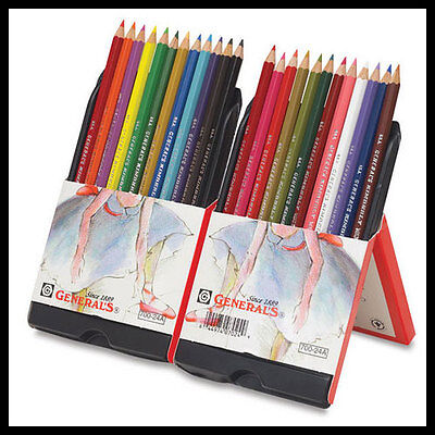 Top Quality General's® Kimberly® Watercolour pencils Set of 24