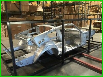 """1968 Ford Mustang 1967, 1968 Ford Mustang Fastback Body Skeleton, Coyote Setup, GT NEW 1967, 1968 Ford Mustang Fastback Body Skeleton, IFS Ready 2"""" Mini Tub"""